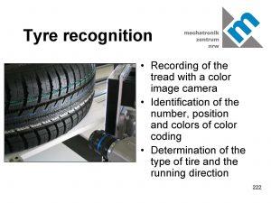 """""""Tyre-Vision System"""" zur Identifikation von Reifen in der Rädermontage"""