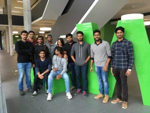 indische Studierende